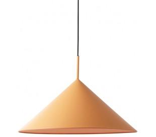 Loftlampe i metal Ø60 cm 1 x E27 - Mat fersken