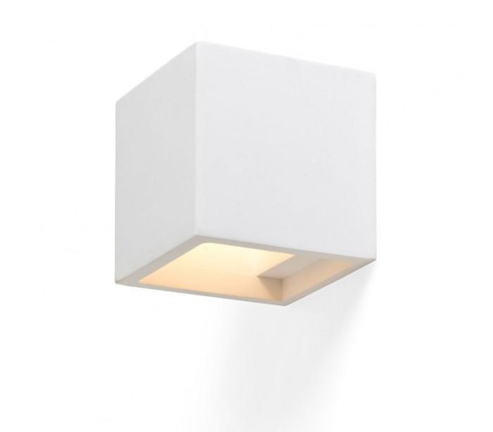 Jack væglampe i gips - hvid fra rendl light studio på lepong.dk