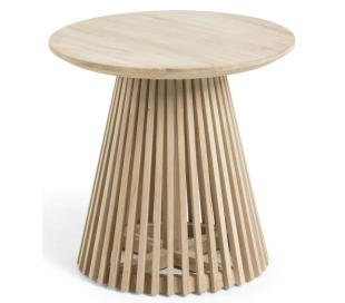Irune sofabord i teaktræ H48 x Ø50 cm - Natur