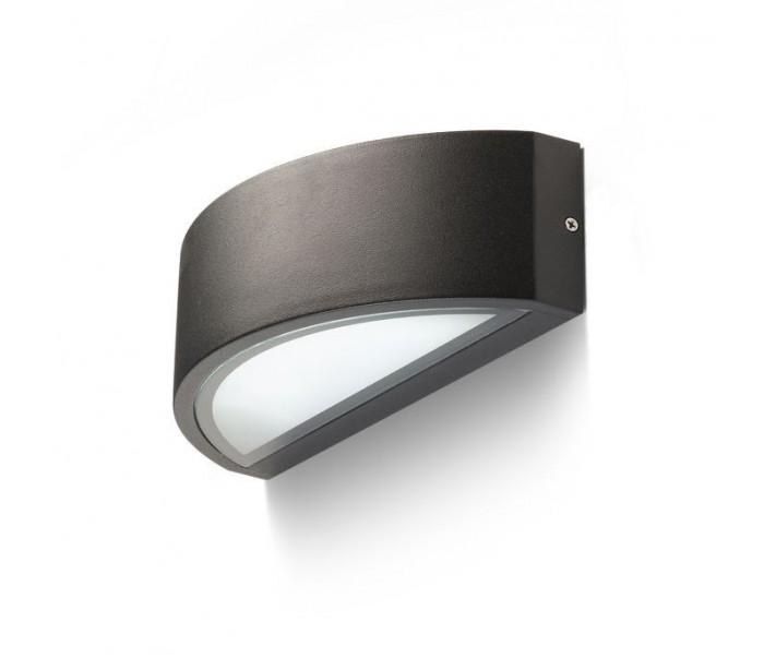 Lesa up-down udendørs væglampe - sort fra rendl light studio fra lepong.dk
