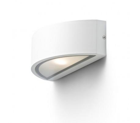 LESA Up-Down Udendørs væglampe - Hvid