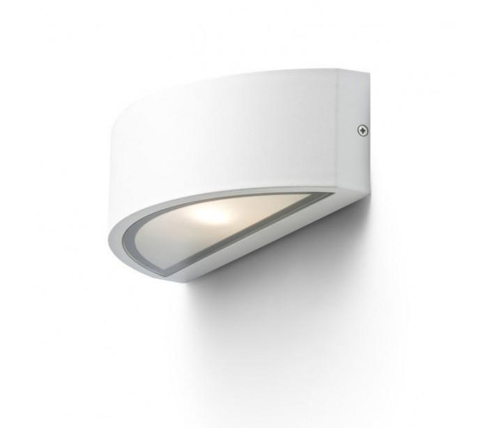 rendl light studio – Lesa up-down udendørs væglampe - hvid fra lepong.dk