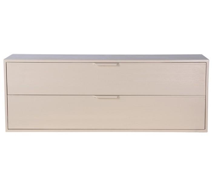 Modul C kabinet med 2 skuffer B100 cm - Sand