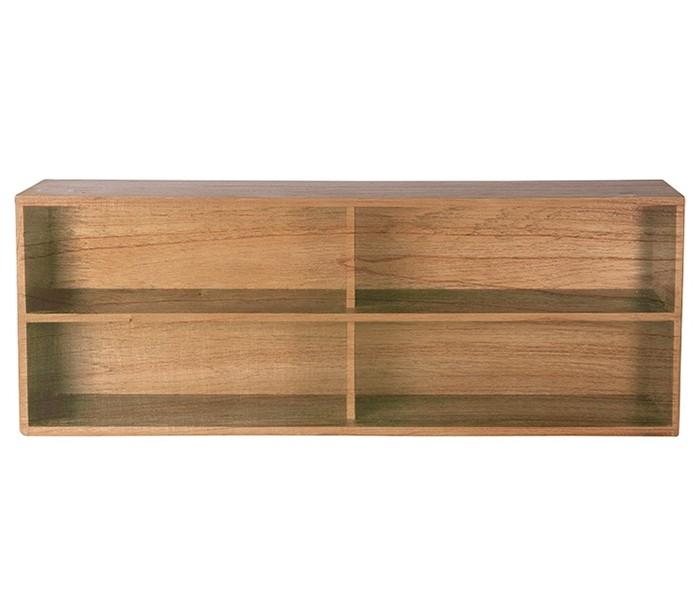 Modul A kabinet med 2 hylderum B100 cm - Natur