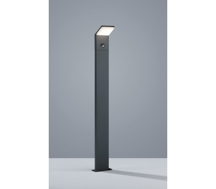Image of   Havelampe H100 9W LED med sensor - Sort