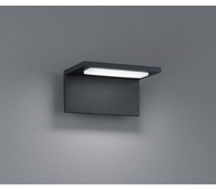 Væglampe 6,5W LED - Sort