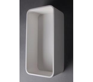 Ideavit Solidtondo hylde 60 x 30 cm Solid surface - Mat hvid