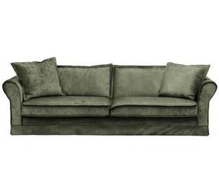 Carlton 3,5 personers sofa i velour B255 cm - Efeu