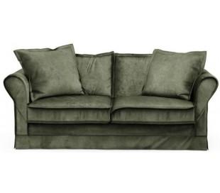 Carlton 2,5 personers sofa i velour B181 cm - Efeu
