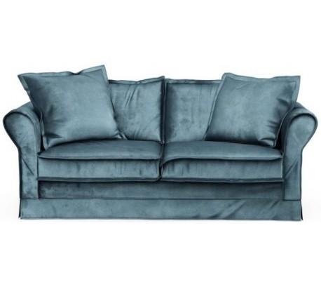 Carlton 2,5 personers sofa i velour B181 cm – Petrolium