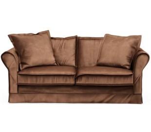 Carlton 2,5 personers sofa i velour B181 cm - Chokolade