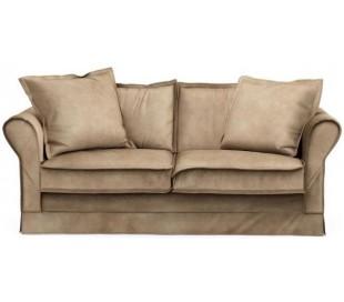 Carlton 2,5 personers sofa i velour B181 cm - Gylden beige