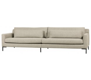 Hang Out 4-personers sofa i polyester B282 cm - Natur