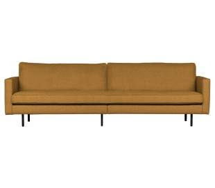 3-personers sofa i polyester B277 cm - Fudge