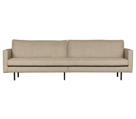 3-personers sofa i polyester B277 cm – Sand