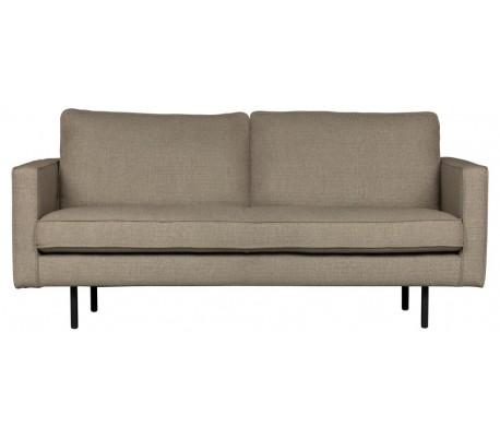 2,5-personers sofa i polyester B190 cm – Melange