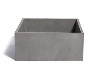 Håndvask til bord 38 x 38 cm - Beton