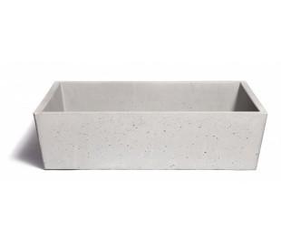 Håndvask til bord 59 x 39 cm - Beton