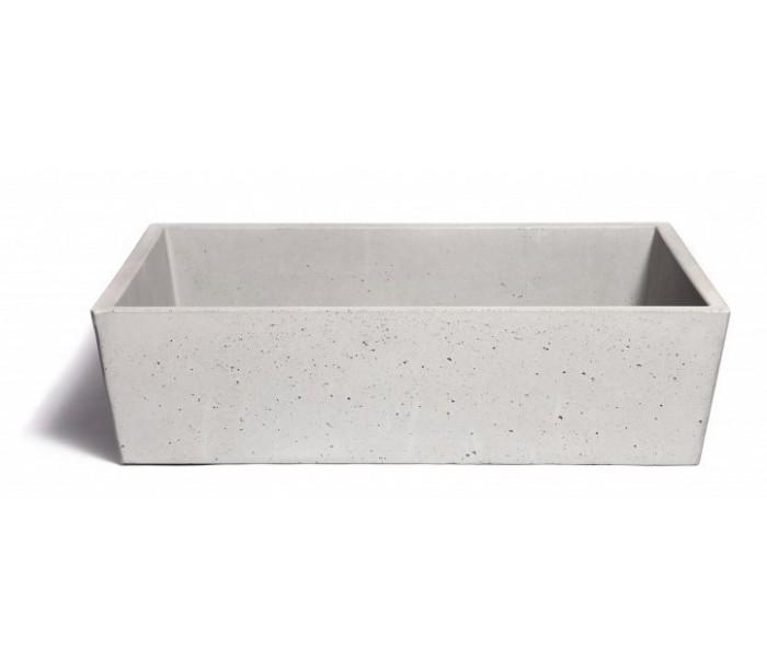 Håndvask til bord 59 x 39 cm – Beton – pris 4699.00