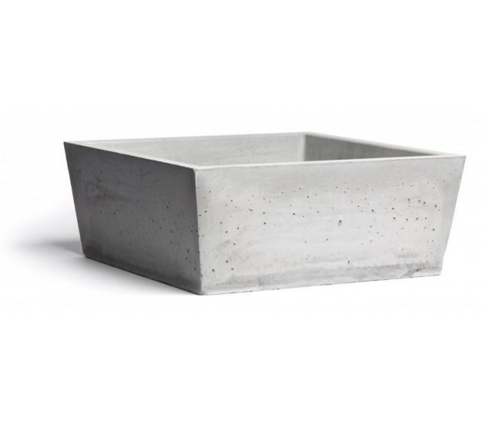 selected by lepong Håndvask til bord 38,5 x 38,5 cm - beton fra lepong.dk