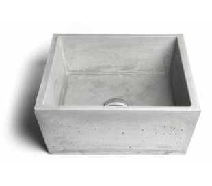 Håndvask til bord 38,5 x 38,5 cm - Beton