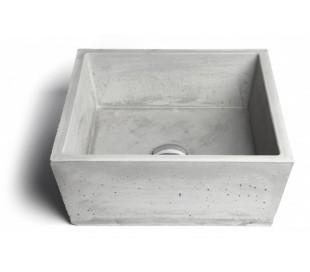 Håndvask til bord 39 x 39 cm - Beton