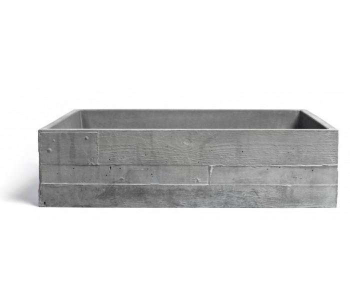Håndvask til bord 58 x 38 cm – Beton – pris 4999.00