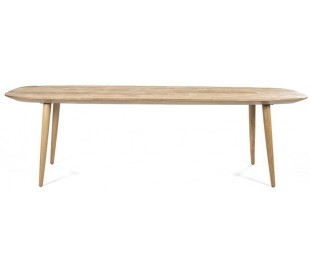 Spisebord i genanvendt teaktræ 260 x 100 cm - Teak