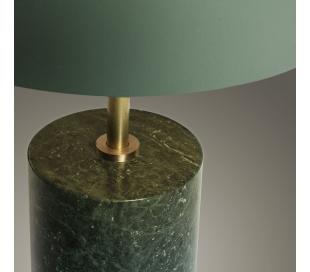 Bjerne væglampe i metal H60 cm - Grøn/Antik messing