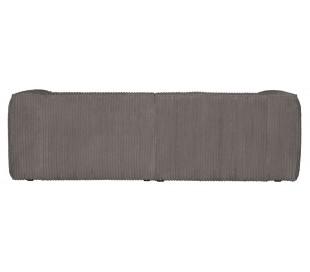 Moderne 3,5 personers sofa i ripcord polyester 246 x 96 cm - Terrazzo