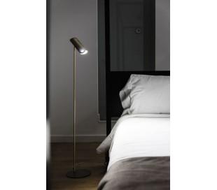 Link gulvlampe i metal H110 cm 1 x GU10 - Bronze