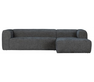 Moderne hjørnesofa i polyester 305 x 175 cm - Terrazzo