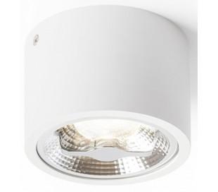 Kelly påbygningsspot Ø12 cm 15W LED - Hvid