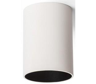 Connor påbygningsspot Ø6,9 cm 1 x GU10 - Hvid/Sort