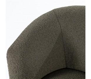 Charlotte lænestol i polyester H75 cm - Grøn