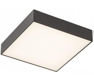 Larisa SQ Plafond 30 x 30 cm 30W LED - Sort