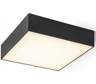 Larisa SQ Plafond 22 x 22 cm 20W LED - Sort