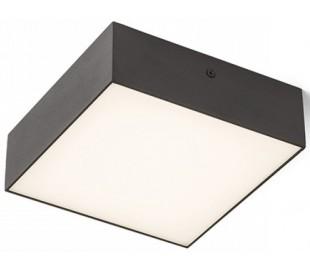 Larisa SQ Plafond 17 x 17 cm 15W LED - Sort