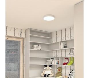 Larisa Plafond Ø30 cm 30W LED - Hvid