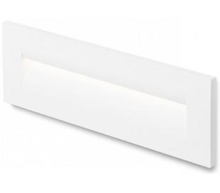 Rasq Væglampe til indbygning 25 x 8,6 cm 8,5W LED - Hvid