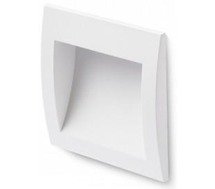 Gordiq M Væglampe til indbygning 14 x 14 cm 3W LED - Hvid