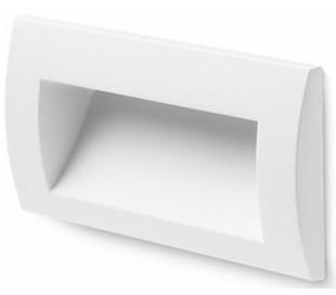 Gordiq L Væglampe til indbygning 14 x 7 cm 3W LED - Hvid