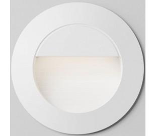 Marco Væglampe til indbygning Ø7,8 cm 3W LED - Hvid