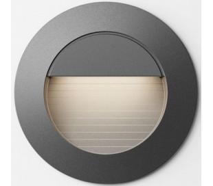 Marco Væglampe til indbygning Ø7,8 cm 3W LED - Sort