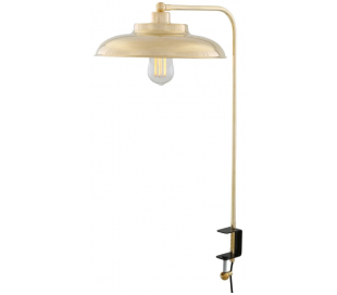 Telal Bordlampe med klemme H70 cm 1 x E27 - Poleret messing