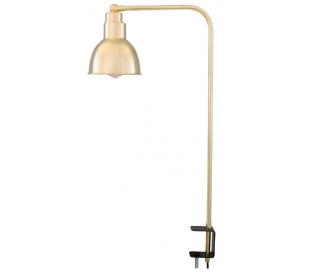 Baku Bordlampe med klemme H73,5 cm 1 x E27 - Poleret messing