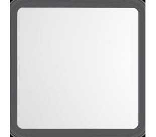 AP 20 Væglampe i aluminium 20 x 20 cm 1 x 11W LED - Mat hvid
