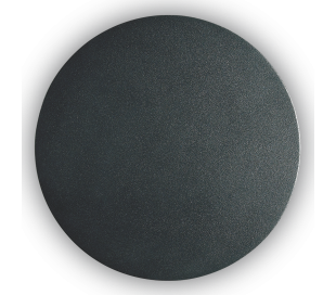 AP 15 rund væglampe i aluminium Ø15 cm 1 x 9W LED - Mat sort