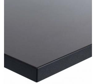 EP Home hæve sænkebord 140 x 70 cm - Sort/Antracit