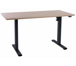 EP Home hæve sænkebord 140 x 70 cm - Sort/Eg
